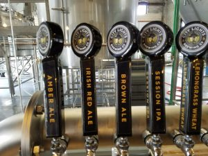 City Lights Brewing Co. tap handle decals.
