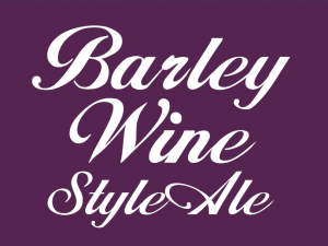 "Barley Wine Style Ale 1.125"" x 1.5"" tap handle magnet."