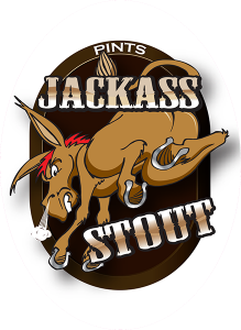 Colorado Belle Tap Decals: Jackass Stout.