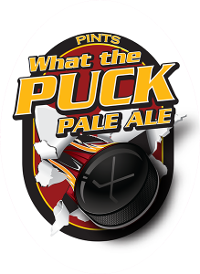 Colorado Belle Las Vegas What the Puck Pale Ale tap decal.