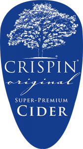 Crispin Original Super Premium Cider Tap handle decal.