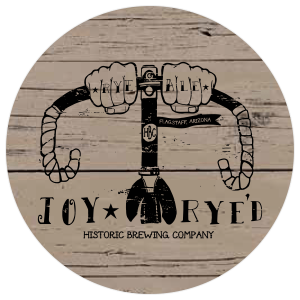 Historic Brewing Co. Joy Ryed tap handles label.
