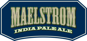 Malestrom India Pale Ale tap handle magnet.