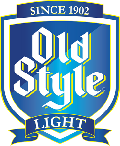 Old Style Light beer tap handle decal.