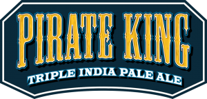 Pirate King Triple India Pale Ale tap handle magnet.