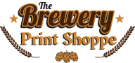 The Brewery Print Shoppe logo.