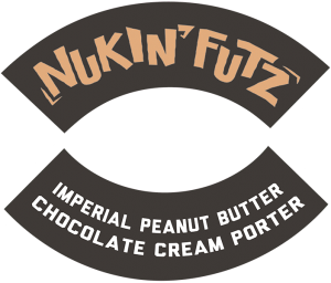 Track 7 Brewing: Nukin' Futz tap handle decal.