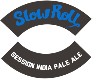 Track 7 Brewing: Slow Roll tap handle decal.