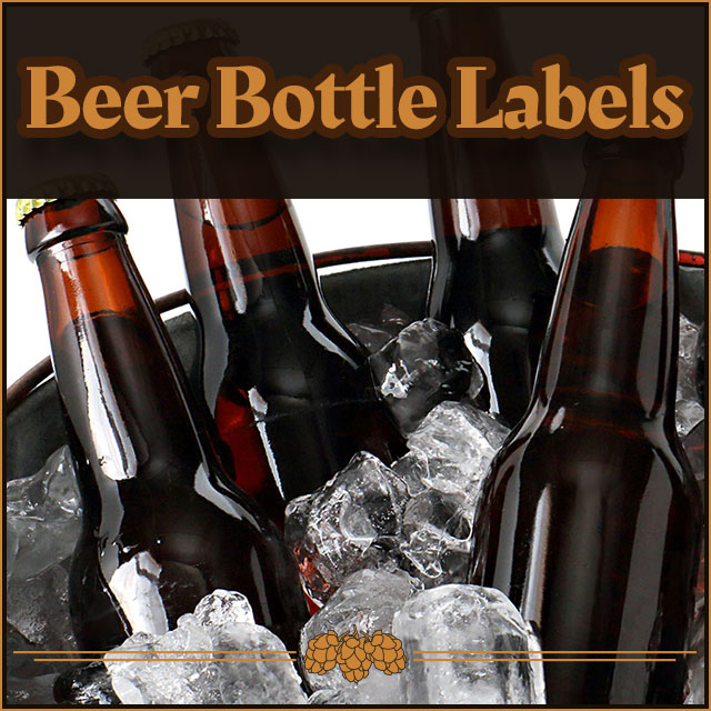 Beer Bottle Labels.