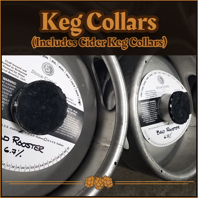 Printed Keg Collars.