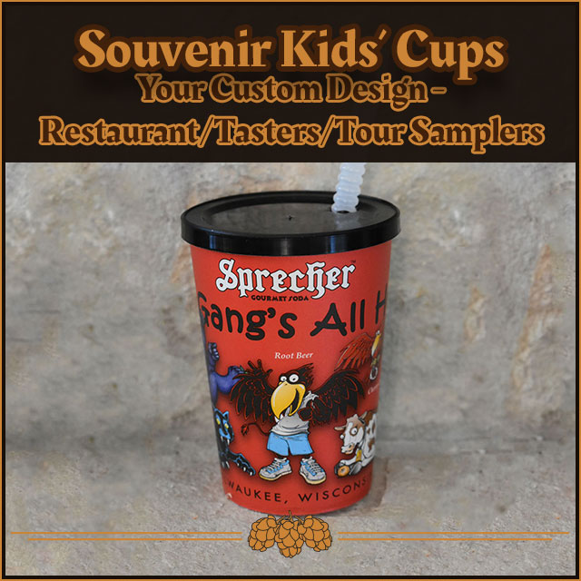 Souvenir Kids' Cups: Your Custom Design