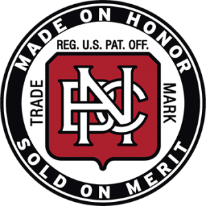 Hannison Woodworks: BNC Made in Honor, Sold on Merit tap handle decal.