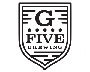 G FIVE Brewing sheeted promotional decal.