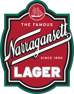 Hannison Woodworks: Narragansett Lager tap handle decal.
